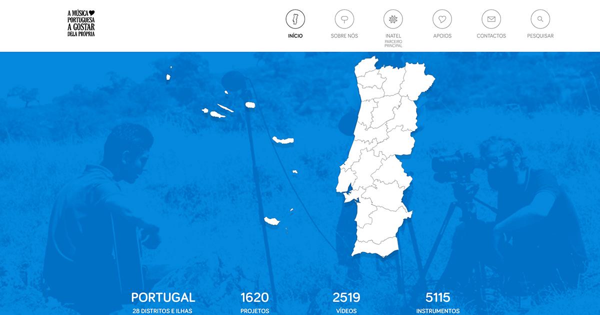 Início - A Música Portuguesa a Gostar dela Própria